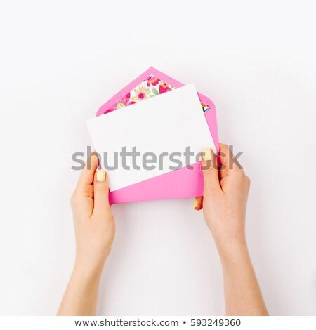 şık zarf gelinler jartiyer diğer Stok fotoğraf © ruslanshramko