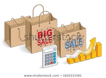 big sale black friday autumn sellout of shops stock photo © robuart
