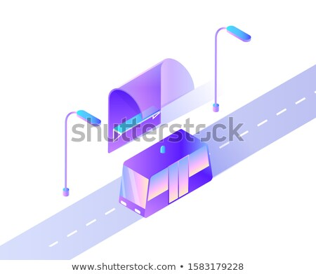 Smart Car with Siren, Bus Transport for Public Stock photo © robuart
