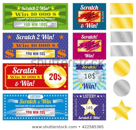 Money set pattern Stock photo © netkov1