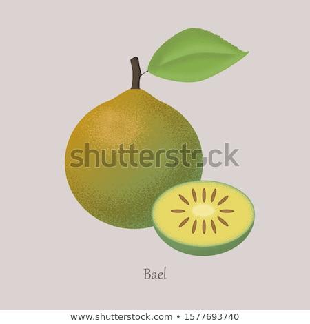 Photo stock: Exotique · juteuse · fruits · vecteur · isolé · icône