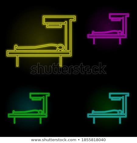 Fuß Bauch- zurück Massage Vektor Stock foto © robuart