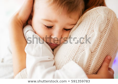 Mother and children hug Stock photo © jsnover