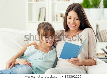 мнение матери дочь чтение Сток-фото © wavebreak_media
