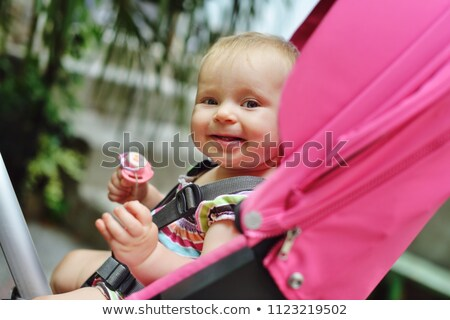Baby sitting stroller Stock photo © Lopolo