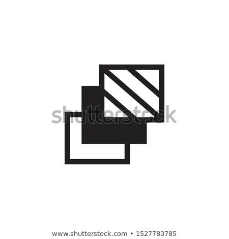 Camada ícone nível diferente tipo Foto stock © kyryloff