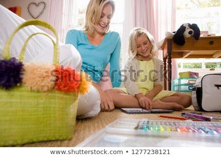 3 draw colour adult 3 level  Stock photo © Olena