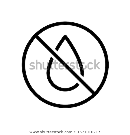 Waterproof Spray Icon Vector Outline Illustration Stock photo © pikepicture