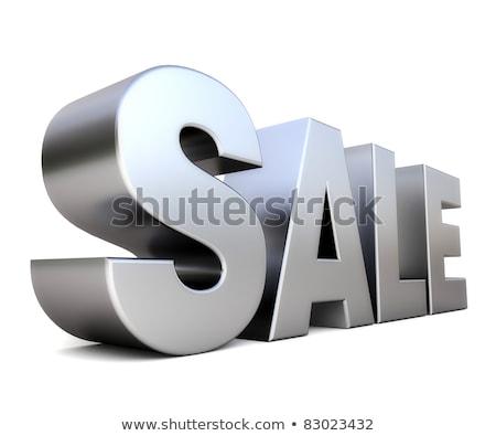 Cromo grande venda 3D ilustração Foto stock © djmilic