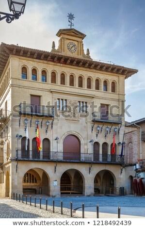 City Council Olite, Spain Stock photo © borisb17