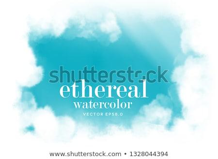 Glauben abstrakten Illustration Wort geschrieben Muster Stock foto © enterlinedesign