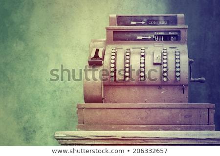 Kassa commerce markt geld business supermarkt Stockfoto © yupiramos