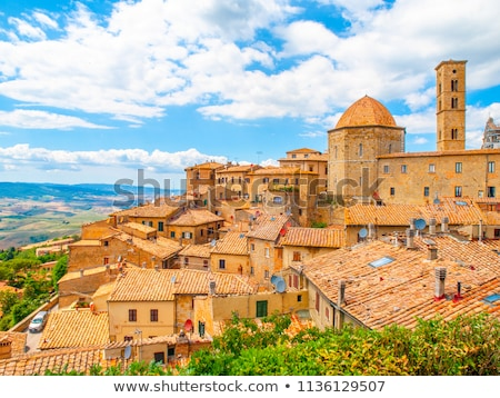 View of medieval city of Volterra Tuscany  Stock photo © wjarek