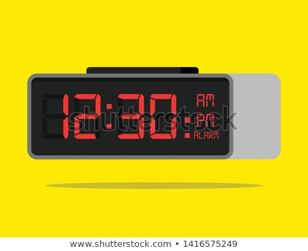 Classic alarm clock with digital display  Stock photo © adrian_n