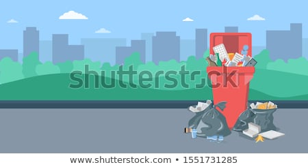 Dustbin in the City Stock photo © tepic