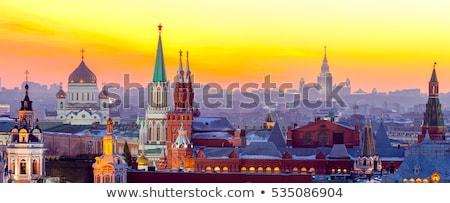 Kremlin kerken venster zomer kerk Rood Stockfoto © Paha_L