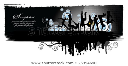 современных · пурпурный · интерьер · черный · лампы · желтый - Сток-фото © sahua