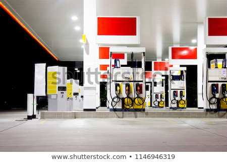 gas pump station Stock photo © vrvalerian