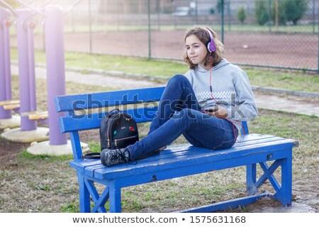 MP3 player and  music Stock photo © pkdinkar