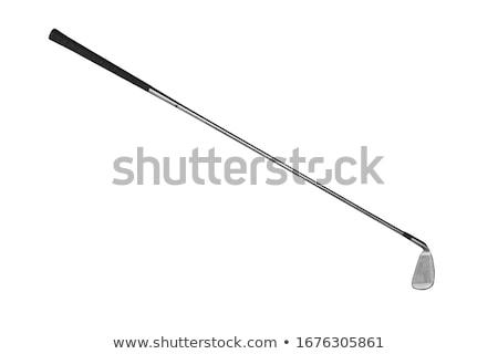 гольф-клубов изолированный белый гольф фон чистой Сток-фото © ozaiachin