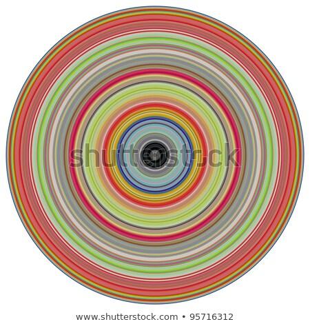Rendu 3d concentrique tuyaux multiple couleurs Photo stock © Melvin07