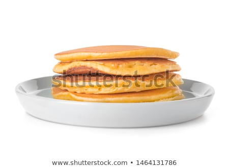 Plate of pancakes stock photo © stevemc