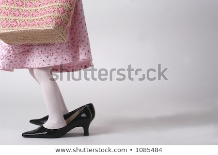 dress,purse, legs and high heels Stock photo © feedough