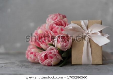 mão · prado · margaridas · flores - foto stock © photography33