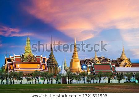 grand palace temple bangkok thailand stock photo © travelphotography