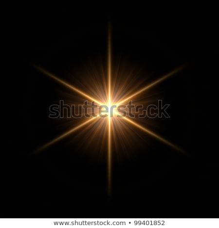 shining stars over red background Stock photo © marinini