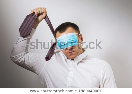 Stock photo: Holding the noose