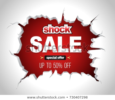 SALE on the wall Stock photo © a2bb5s