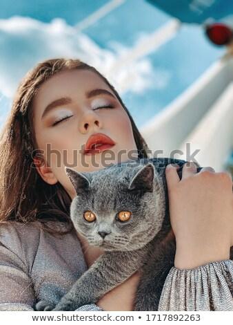 Very beautiful girl Stock photo © pzaxe