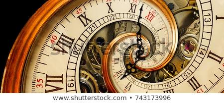 spiral clock stock photo © cteconsulting