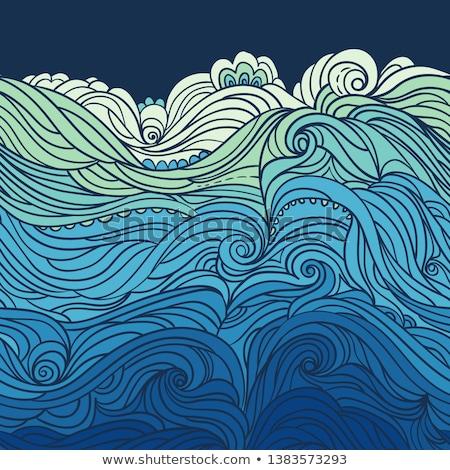 Waves theme image 8 Stock photo © clairev