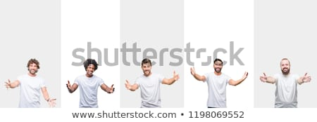 Smiling man with arms open wide Stock photo © wavebreak_media