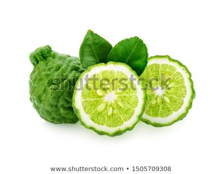 Kireç beyaz meyve limon Asya Stok fotoğraf © Lekchangply