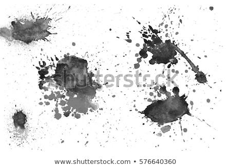 kan · sıçramak · karışıklık · fotoğraf · ayak · izleri - stok fotoğraf © inxti