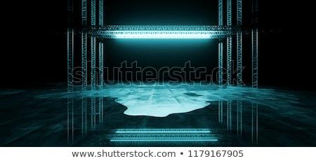 Hielo estructura pared fondo bordo vacaciones Foto stock © Nelosa