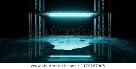 ice structure stock photo © Nelosa