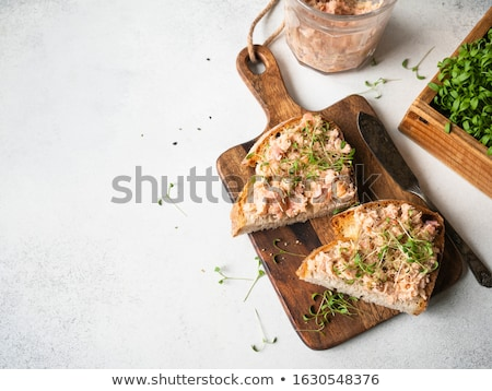 pate on bread starter Stock photo © travelphotography
