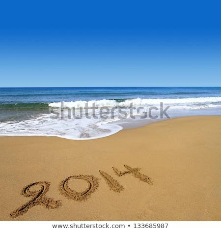 esperança · praia · verão · verão · areia - foto stock © alekleks