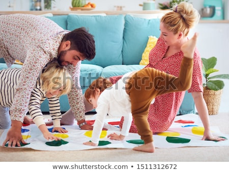 mother and son playing stock photo © chesterf