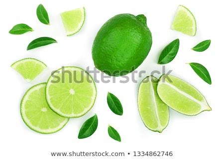 Green Lemons Stock photo © zhekos