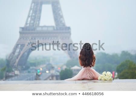 Koyu esmer kadın elbise kız dans zemin Stok fotoğraf © pxhidalgo