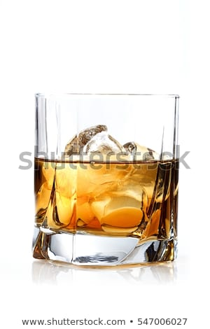 uísque · rochas · belo · vidro · preto · líquido - foto stock © smuay