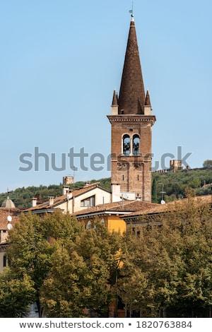 church bell tower Stock photo © nelsonart