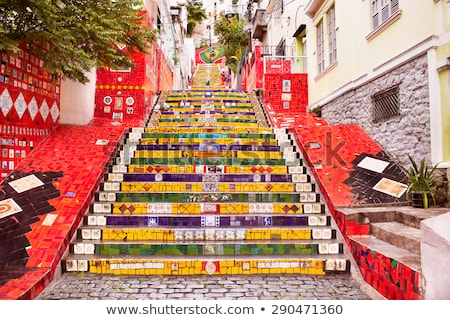 Rio de Janeiro Brasil escada trabalhar artista meu Foto stock © xura