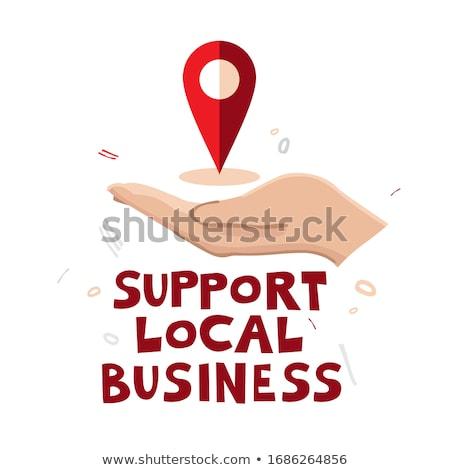 Económico apoyo financieros negocios forestales Foto stock © Lightsource
