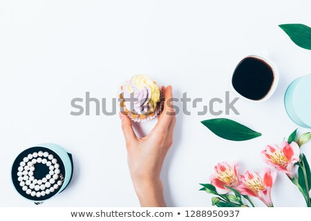 Hand holding female necklace Stock photo © gsermek